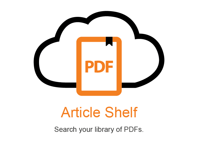 Article Shelf Browser